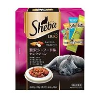 シーバ デュオ 贅沢シーフード味セレクション 240g/20g×12袋