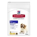サイエンス・ダイエット シニア 7歳以上 高齢犬用 チキン 3.3kg