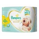 パンパース はじめての肌へのいちばん テープ 新生児用小さめ 24枚