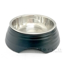 イエモア ペット用食器 Sサイズ 黒色 ML991301-S-BK