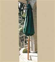 ウッドアンブレラ 2.5mφ 緑
