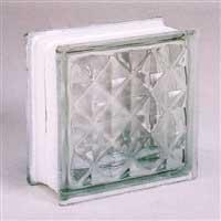 ガラスブロック95 ダイヤモンド 無色(1カートン6個入)
