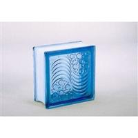 ガラスブロック95 オーシャンビュー ライトブルー(1カートン6個入)