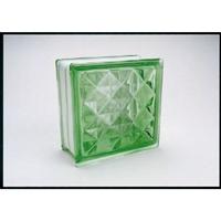 ガラスブロック95 ダイヤモンド グリーン(1カートン6個入)