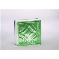 ガラスブロック95 ウ゛ェスタ グリーン(1カートン6個入)