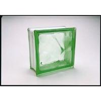 ガラスブロック95 ウェーブ グリーン(1カートン6個入)