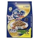 銀のスプーン 贅沢素材バラエティ まぐろ・かつお・ささみ・野菜味 1.1kg