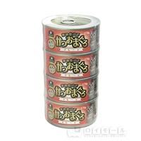 イエモアペット 赤み仕立て かつおまぐろ プレーン 170g×4缶
