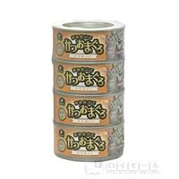 イエモアペット 赤み仕立て かつおまぐろ ささみ入り 170g×4缶
