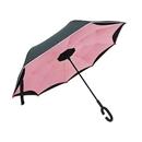 リバースアンブレラ 60cm メッシュ ピンク