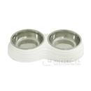 イエモア ペット用食器 Mサイズ 白色 ML991382