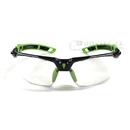 トラスコ 二眼型セーフティグラス フレーム緑色 TSG−9901−GN−H