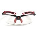 トラスコ 二眼型セーフティグラス フレーム赤色 TSG−9901−R−H