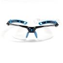 トラスコ 二眼型セーフティグラス フレーム青色 TSG−9901−B−H