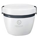 ランタス ステンレス保温 カフェ丼ランチ 800mL ホワイト  HLB−CD800