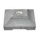 物干台コンクリート(台のみ) 1穴タイプ 1個