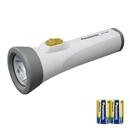 パナソニック エボルタ乾電池付き LED懐中電灯 BF-158BK-W