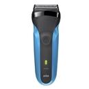 ブラウン シリーズ3 ベーシックモデル  310S ブルー お風呂剃り対応