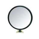 片面拡大鏡約2倍付 折立ハンドミラー ブラック&ゴールド CH−8730BK