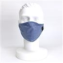 グラフェン 抗菌消臭マスク フリー 限定色 ブルー×シロ