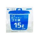 次が使いやすいごみ袋 15L 1ロール(20枚巻)