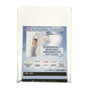 美Room レースカーテン クリア 約100×198cm ホワイト(横縞柄)2枚組