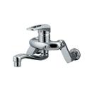 カクダイ シングルレバー混合栓 給湯制限機能付 192−311
