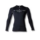 アイズフロンティア #209 冷感・遮熱・消臭 コンプレッションクルーネックシャツ ブラック XL