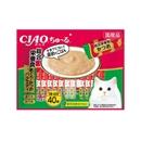 CIAO チャオ ちゅ〜る 総合栄養食 まぐろ・かつおバラエティ 40本
