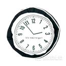 【アウトレット】 ラウンドベッド50 時計デザイン ブラック(BK)