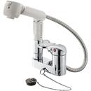 【ロイサポート用・作業費別・処分費別】三栄水栓 シングルスプレー混合栓(洗髪用) K37100VR