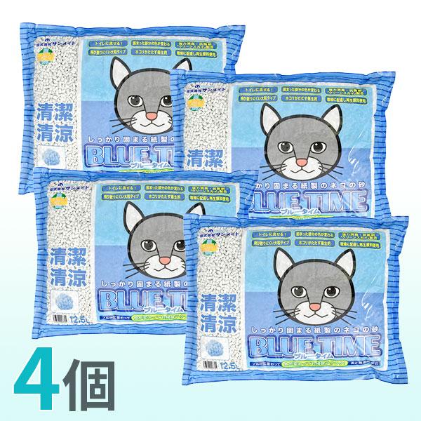 ネコ砂 ブルータイム 12.5L (箱売)