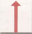 マイゾックス アースプレート上矢印貼付