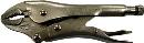 エビ ネジアンギラス バイスプライヤタイプ(カッター付) 125mm