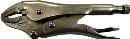 エビ ネジアンギラス バイスプライヤタイプ(カッター付) 175mm
