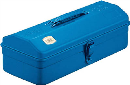 TRUSCO 山型工具箱 359X150X124 ブルー