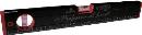 KOD 箱型アルミレベル(黒×赤)