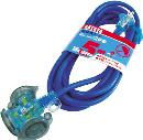 ハタヤ 防雨型2P延長コード5m ブルー