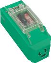 日動 プラコンインポッキンブレーカ 抜止コンセント付 過負荷漏電遮断器付