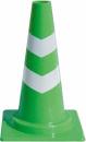 ミニスコッチコーン 450Hφ50 緑/白