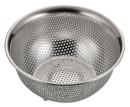 アクアシャイン ステンレス製パンチボール型ザル15�p(足付)