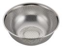 アクアシャイン ステンレス製パンチボール型ザル21�p(足付)