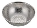 アクアシャイン ステンレス製パンチボール型ザル24�p(足付)