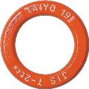 強力リング オレンジ 19×75