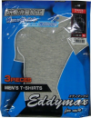 紳士3枚組Tシャツ丸首グレーL