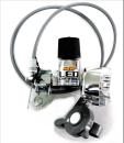 丸善 RMLA−8 R 8LED発電ダイナモ リモートレバー付