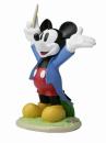 ガーデンスタチュー 音楽隊 ミッキーマウス