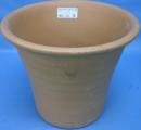 ヨークシャー陶器鉢 リブド フラワーポット M