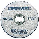 ドレメル EZ−Lockファイバーグラス補強カットオフホイール EZ456