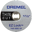 ドレメル EZ−Lockファイバーグラス補強カットオフホイール EZ409